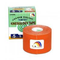 TEMTEX Tejpovacia páska Tourmaline oranžová 5 cm x 5 m