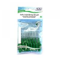 TEPE Medzizubné kefky zelené 0,8 mm 8 ks