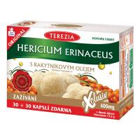 TEREZIA Hericium erinaceus s rakytníkovým olejom 30+30 kapsúl ZDARMA
