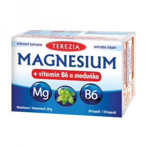 TEREZIA MAGNESIUM + vitamín B6 a medovka 30 kapsúl