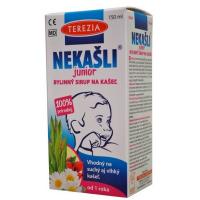 TEREZIA Nekašli junior 100% prírodný bylinný sirup na kašeľ 150 ml