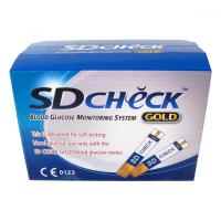 Testovacie prúžky pre glukomer SD-CHECK GOLD 50ks