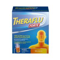 THERAFLU Forte 1000/200/12,2 mg 10 vreciek