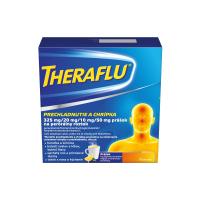 THERAFLU Prechladnutie a chrípka plo por 1x10 vrecúšok