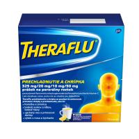 THERAFLU Prechladnutie a chrípka 14 vreciek = DARČEK ZADARMO