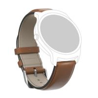 TICWATCH Leather Watch Strap kožený remienok hnedý