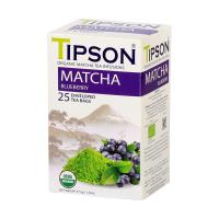 TIPSON Matcha Blueberry 25 vreciek BIO