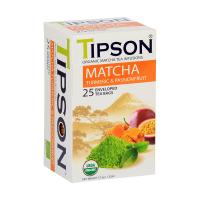 TIPSON Matcha Turmeric & Passion Fruit 25 vreciek BIO