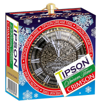 TIPSON Dream Time Christmas Blue Crimson plech ovocný čaj 30 g