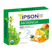 TIPSON Moringa Assorted bylinné čaje 60 vrecúšok BIO