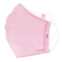 TNG Rúško textilné 3-vrstvové ružové veľkosť M 1 kus