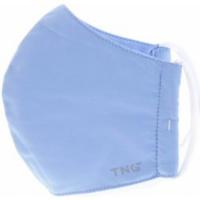 TNG Rúško textilné 3-vrstvové svetlomodré veľkosť M 1 kus