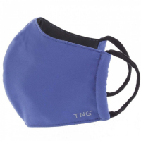 TNG Rúško textilné 3-vrstvové tmavo modré veľkosť M 1 kus