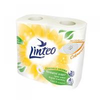 LINTEO Toaletný papier harmanček 3-vrstvový 4x18 m