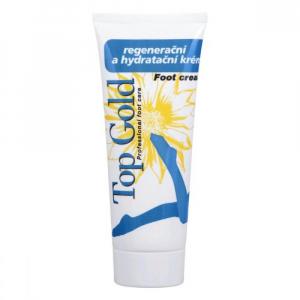 TOP GOLD Regeneračný a hydratačný krém na nohy 100 ml