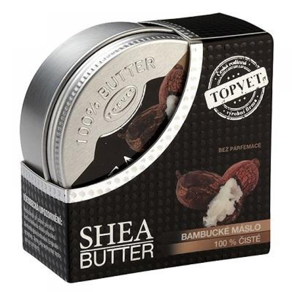 TOPVET Bambucké maslo 100% 100 ml