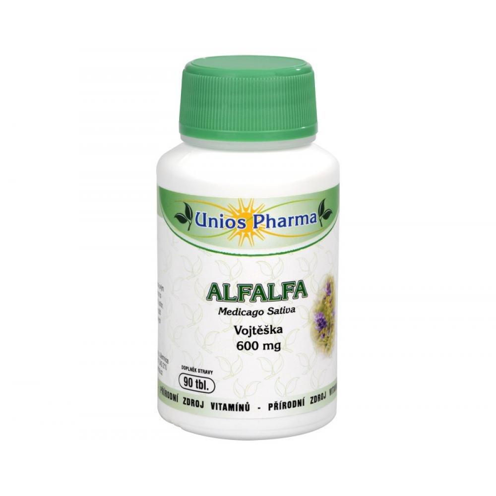 UNIOS PHARMA Trophic Alfalfa 600 mg 90 tabliet