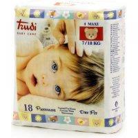 TRUDI Detské plienky Dry Fit Perfo-Soft Maxi 7-18 kg 18 ks