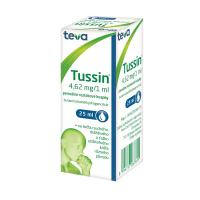 TUSSIN perorálne roztokové kvapky 25 ml