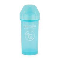 TWISTSHAKE Fľaša netečúca + náustok 12+ mesiacov modrá 360 ml