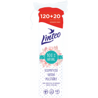LINTEO Vatové vankúšiky 120+20 ks