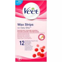 VEET Wax Strip Voskové pásiky na nohy a telo 12 kusov