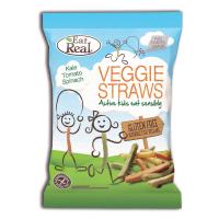 EAT REAL Veggie Straws zeleninové pre deti 20 g BEZ lepku