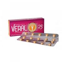 VERAL 25 mg 30 tabliet
