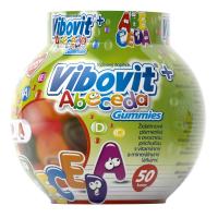VIBOVIT+ ABECEDA Gummies želatínové písmenká 50 ks