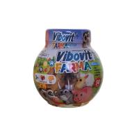 VIBOVIT+ FARMA Gummies želé s ovocnou príchuťou 50 ks