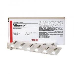 VIBURCOL 1,1 g čapíky 12 kusov