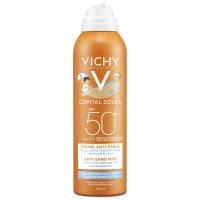VICHY Capital Soleil jemný sprej pre deti odpudzujúci piesok SPF 50 200 ml