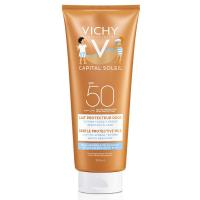 VICHY Capital Soleil ochranné jemné mlieko pre deti na tvár a telo SPF 50 300 ml