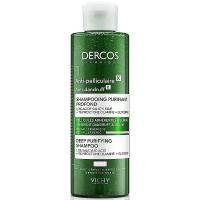 VICHY Dercos K Šampón proti lupinám s peelingovým efektom 250 ml