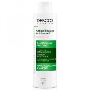 VICHY Dercos šampón proti lupinám 200 ml