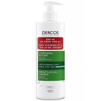VICHY Dercos šampón proti lupinám na normálne až mastné vlasy 390 ml