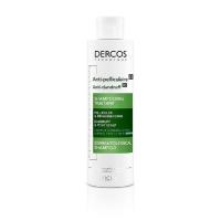 VICHY Dercos šampón proti lupinám pre normálne až mastné vlasy 200 ml