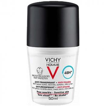 VICHY Homme Antiperspirant pre mužov proti škvrnám 50 ml