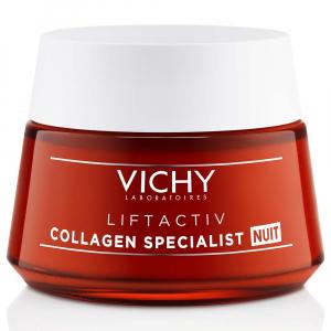 VICHY Liftactiv Collagen Specialist Komplexná nočná starostlivosť proti vráskam 50 ml