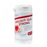 VIESTE atlantickej olej STRONG Omega - 30 kapsúl