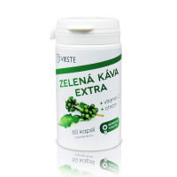 VIESTE Zelená káva extra 60 kapsúl