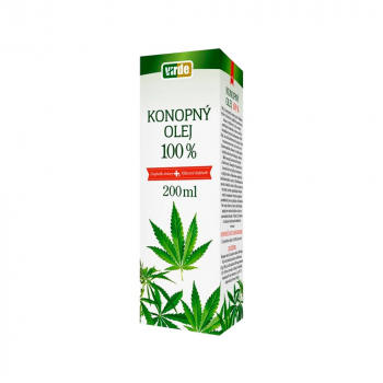 VIRDE Konopný olej 100% 200 ml