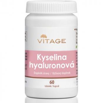 VITAGE Kyselina hyalurónová 60 kapsúl
