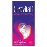 VitaHarmony Gravital pre tehotné a dojčiace ženy 60 tabliet