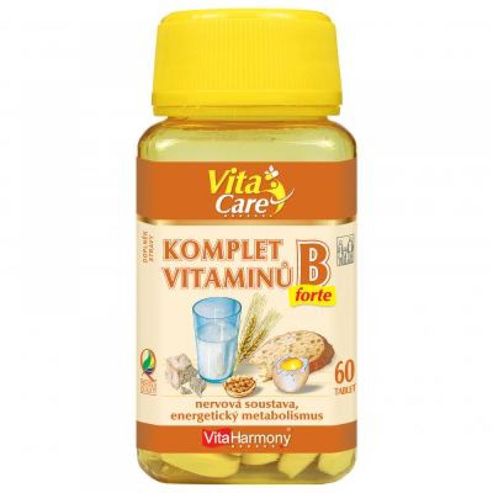 VitaHarmony Komplex B vitamínov tbl. 60