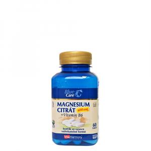 VITAHARMONY Magnesium citrát 400 mg + Vitamín B6 60 tabliet