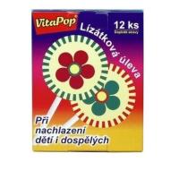 VitaHarmony VitaPop 12 ks lízaniek pri prechladnutí