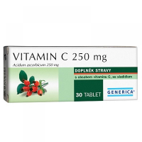 Generica Vitamín C 250 mg 30 tabliet
