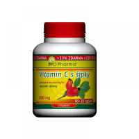 Vitamín C 500mg so šípkami prodl.účinek tbl.90 + 30
