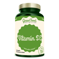 GREENFOOD NUTRITION Vitamín D3 60 kapsúl